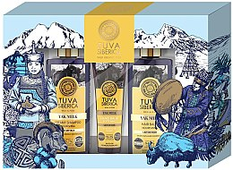 Parfémy, Parfumerie, kosmetika Sada - Natura Siberica Tuva Yak Milk (hand/balm/75ml + shmp/300ml + cond/300ml)