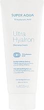 Parfémy, Parfumerie, kosmetika Čisticí pleťový krém s kyselinou hyaluronovou - Missha Super Aqua Ultra Hyalron Cleansing Cream