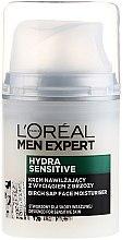 Parfémy, Parfumerie, kosmetika Hydratační krém s extraktem z břízy pro citlivou pleť - L'Oréal Paris Men Expert Hydra Sensitive 25+