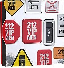 Parfémy, Parfumerie, kosmetika Carolina Herrera 212 VIP Men - Sada (edt/100 ml + sh/gel/100 ml)