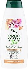 Parfémy, Parfumerie, kosmetika Gel-pěna do sprchy a koupele s mandlovým a arganovým extraktem - Erba Viva Bio Nutrient Almonds&Argan