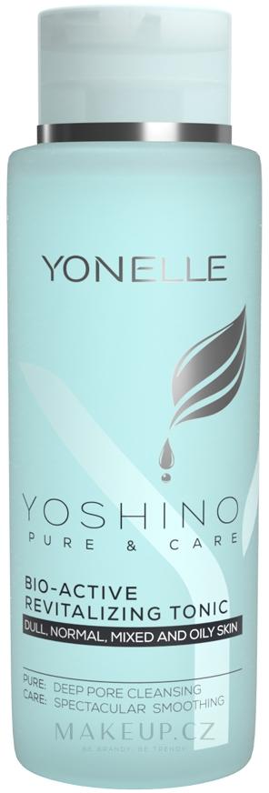 Obnovující tonikum na obličej - Yonelle Yoshino Pure & Care Bio-Active Revitalizing Tonic — foto 400 ml