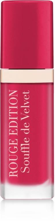 Tekutá matná rtěnka - Bourjois Rouge Edition Souffle de Velvet Lipstick