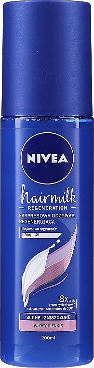 """Obnovující kondicionér-sprej pro tenké vlasy """"7 Plus"""" - Nivea Hairmilk Conditioner"""