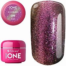 Parfémy, Parfumerie, kosmetika Gel na nehty - Silcare Base One Chameleon UV Gel Color