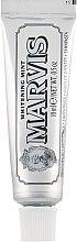 Parfémy, Parfumerie, kosmetika Zubní pasta bělící Máta - Marvis Whitening Mint Toothpaste (mini)