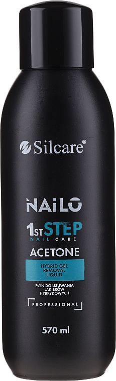 Tekutina pro odstranění gel-laku - Silcare Nailo Aceton