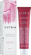 Parfémy, Parfumerie, kosmetika Barva na vlasy - Cutrin Aurora Permanent Hair Color (4.7 -Černá káva)
