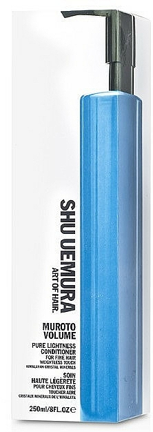Kondicionér dodávající objem tenkým vlasům - Shu Uemura Art of Hair Muroto Volume Pure Lightness Conditioner — foto N2