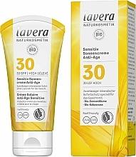 Parfémy, Parfumerie, kosmetika Opalovací pleťový krém - Lavera Sensitive Sun Cream Anti-Age SPF 30