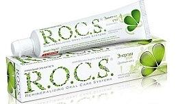 Parfémy, Parfumerie, kosmetika Zubní pasta Ranní energie s dvojitou příchutí máty - R.O.C.S..
