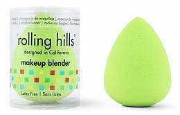 Parfémy, Parfumerie, kosmetika Houbička na make-up, zelená - Rolling Hills Makeup Blender Green