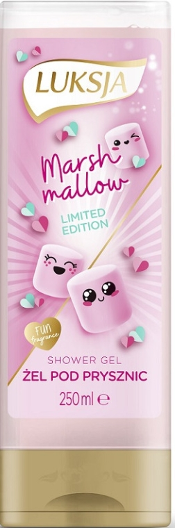 "Krémový sprchový gel ""Marshmallow "" - Luksja Marshmallow Shower Gel"