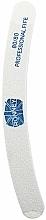 Parfémy, Parfumerie, kosmetika Pilník na nehty, 80/80, bílý, banán - Ronney Professional