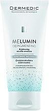 Parfémy, Parfumerie, kosmetika Micelární emulze - Dermedic MeLumin Depigmenting Micellar Emulsion