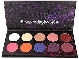Parfémy, Parfumerie, kosmetika Paleta očních stínů - Ingrid Cosmetics Colors Matt & Glam Palette