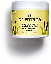 """Parfémy, Parfumerie, kosmetika Tělový olej """"Kostival a citronová tráva"""" - Orientana Body Oil"""