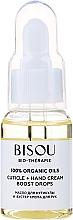 Parfémy, Parfumerie, kosmetika Olej na nehtovou kůžičku a booster krému na ruce - Bisou Bio-Therape