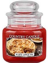 Parfémy, Parfumerie, kosmetika Vonná svíčka ve sklenici - Country Candle Warm Apple Pie
