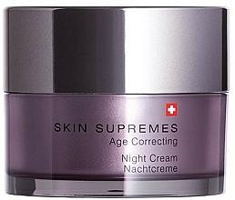 Parfémy, Parfumerie, kosmetika Noční pleťový krém - Artemis of Switzerland Skin Supremes Age Correcting Night Cream