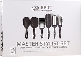 Parfémy, Parfumerie, kosmetika Sada - Wet Brush Epic Professional (h/brush/6pcs)