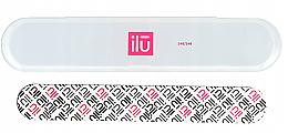 Parfémy, Parfumerie, kosmetika Pilník na nehty v pouzdře - Ilu Nail File With Case Medium 240/240