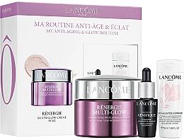 Parfémy, Parfumerie, kosmetika Sada - Lancome Renergie Multi-Glow Routine Set (cr/50ml + ser/7ml + milk/50ml)