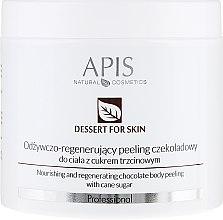 Parfémy, Parfumerie, kosmetika Tělový peeling - APIS Professional Dessert For Skin Nourishing And Regenerating Chocolate Body Peeling