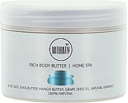 Parfémy, Parfumerie, kosmetika Tělový olej - Naturativ Rich Body Butter Home Spa