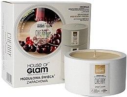Parfémy, Parfumerie, kosmetika Aromatická svíčka - House of Glam Sweet Cherry Liquer Candle