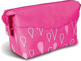 Parfémy, Parfumerie, kosmetika Kosmetická taška s potiskem Kapičky, světle růžová - Donegal Cosmetic Bag