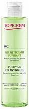 Parfémy, Parfumerie, kosmetika Čisticí seboregulační gel - Topicrem Purifying Cleansing Gel