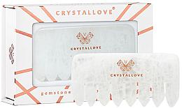Parfémy, Parfumerie, kosmetika Průhledný křemenný hřeben - Crystallove Clear Quartz Comb