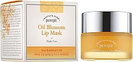 Parfémy, Parfumerie, kosmetika Noční maska na rty s rakytníkovým olejem a vitamínem E - Petitfee&Koelf Oil Blossom Lip Mask