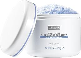 Parfémy, Parfumerie, kosmetika Obnovující antistresový solný peeling - Pupa Home Spa Salt Scrub