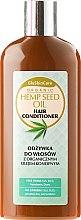 Parfémy, Parfumerie, kosmetika Kondicionér na vlasy s organickým konopným olejem - GlySkinCare Organic Hemp Seed Oil Hair Conditioner