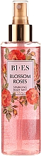 Parfémy, Parfumerie, kosmetika Bi-es Blossom Roses Sparkling Body Mist - Parfémovaný tělový sprej se třpytkami
