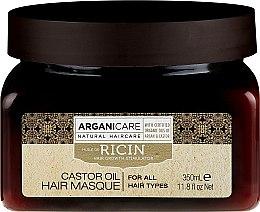 Parfémy, Parfumerie, kosmetika Maska pro růst vlasů - Arganicare Castor Oil Hair Masque