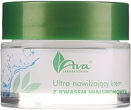 Parfémy, Parfumerie, kosmetika Ultra hydratační krém krém s kyselinou hyaluronovou - AVA Laboratorium Ultra Moisturizing Hyaluronic Cream
