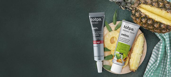 Sleva až 10% na akční sortiment produktů pro péči o pleť Tołpa. Ceny na webu jsou včetně slev