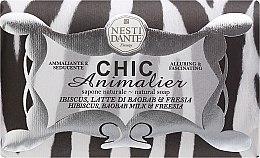 """Parfémy, Parfumerie, kosmetika Mýdlo """"Bílý tygr"""" - Nesti Dante Chic Animalier Soap"""