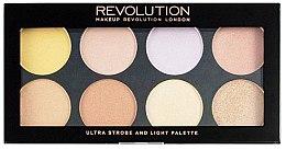 Parfémy, Parfumerie, kosmetika Paleta pro strobing - Makeup Revolution Ultra Strobe and Light Palette