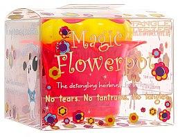 Parfémy, Parfumerie, kosmetika Kartáč na vlasy - Tangle Teezer Magic Flowerpot Princess Pink