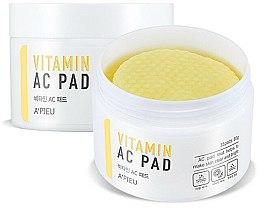 Parfémy, Parfumerie, kosmetika Peelingové pleťové tampónky pro čištění pleti - A'pieu Vitamin AC Pad