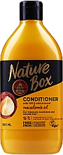 Parfémy, Parfumerie, kosmetika Hydratační kondicionér s olejem makadamie - Nature Box Macadamia Oil