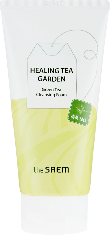 Pěna na mytí obličeje - The Saem Healing Tea Garden Green Tea Cleansing Foam