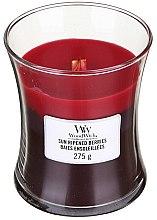 Parfémy, Parfumerie, kosmetika Vonná svíčka ve sklenici - WoodWick Hourglass Trilogy Candle Sun Ripened Berries