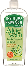 """Parfémy, Parfumerie, kosmetika Olej na tělo """"Aloe Vera"""" - Instituto Espanol Aloe Vera Body Oil"""
