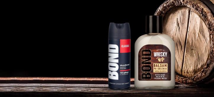 K nákupu produktů Bond nebo Bond Expert v hodnotě nad 169 Kč získej deodorant jako dárek