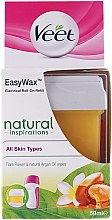 Parfémy, Parfumerie, kosmetika Kazeta s voskem - Veet Easy Wax Natural Inspirations